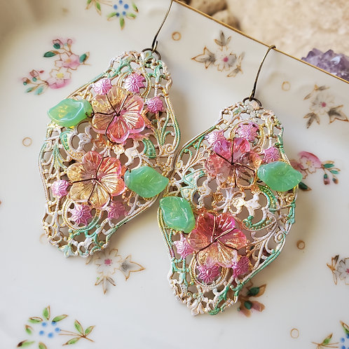 Energizing Blooms Earrings