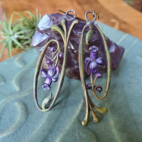 Corona Iris Earrings