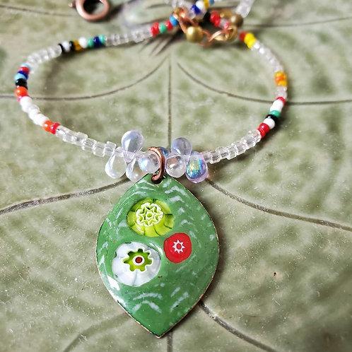 Funky Leaf Necklace