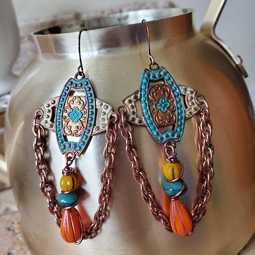 Southwest Sunrise Earrings