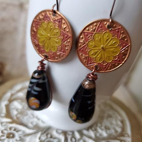 Mini Medallion Funk Earrings