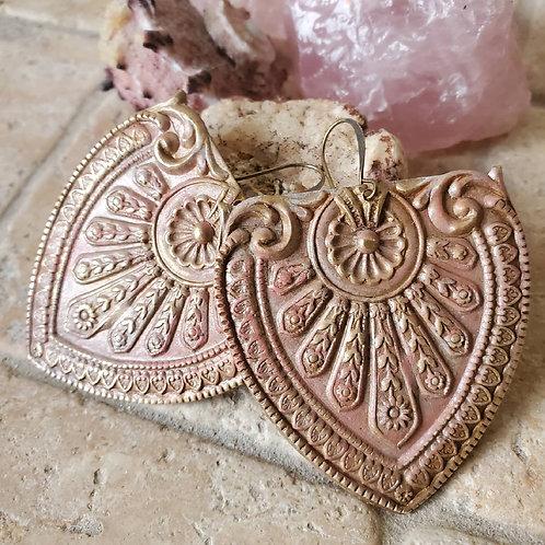 Zara  Medallion Earrings