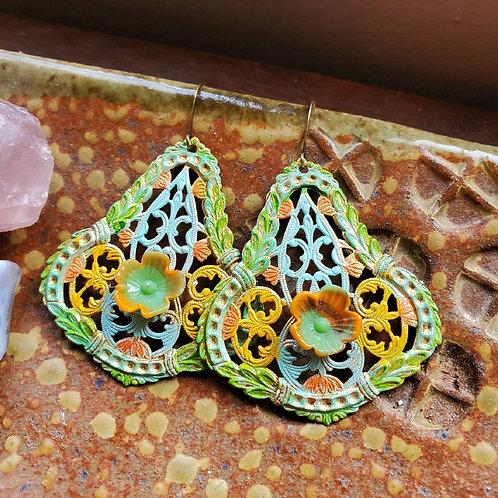 Shades of Sherbet Earrings