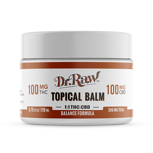 Dr. Raw Topical Balm 1:1 & 20:1