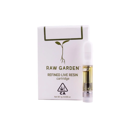 Raw Garden Cartridges .5g