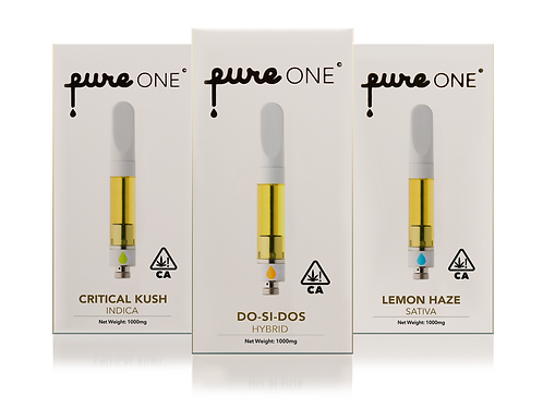 Pure One Cartridges .5g