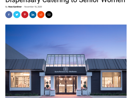 Mg Magazine: An Elevated Dispensary Catering to Senior Women