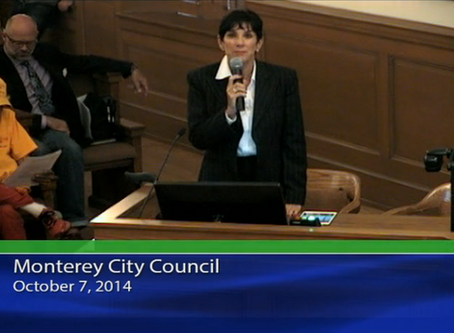 Monterey City Council Meeting