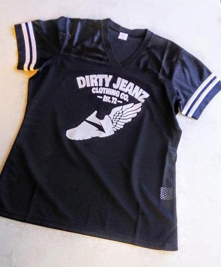 Dirty Jeanz Street Runnerz Football Jersey Black