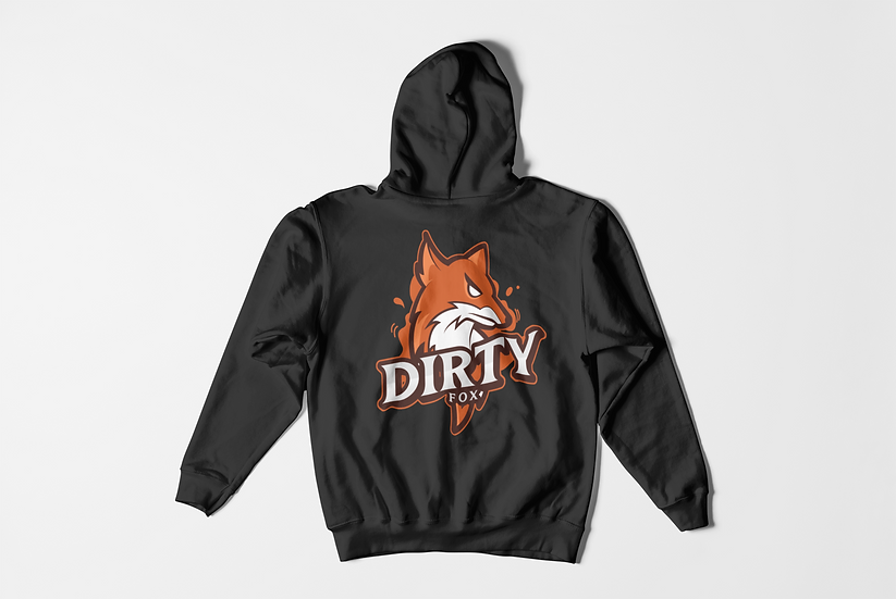 Dirty Jeanz  Dirty Fox Hoodie Pullover