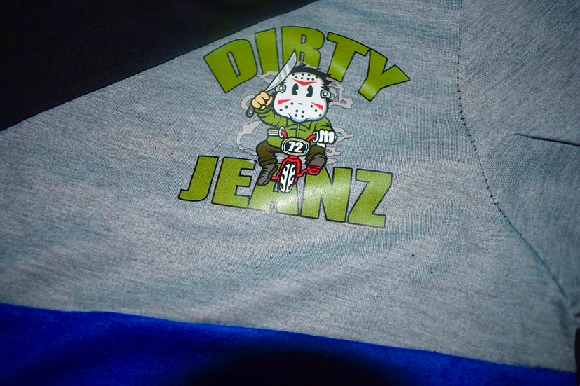 Dirty Jeanz Baby Jason 72 Short Outfit Blue