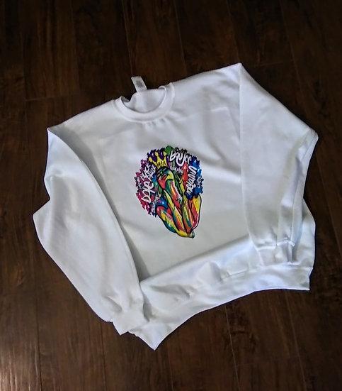 Boujee Queen Sweat Shirt (Ladies)