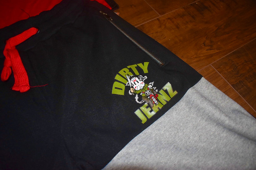 Dirty Jeanz Baby Jason 72 Short Outfit Red