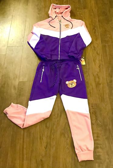 Dirty Jeanz Women Teddy Sweat Suit