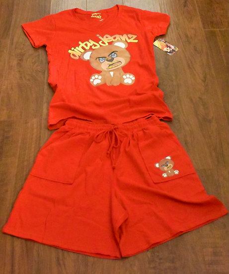 Dirty Jeanz Teddy T & Shorts