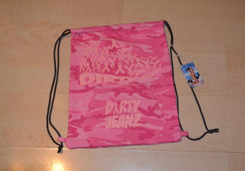 Dirty Jeanz Ribbons Hoodie Bag