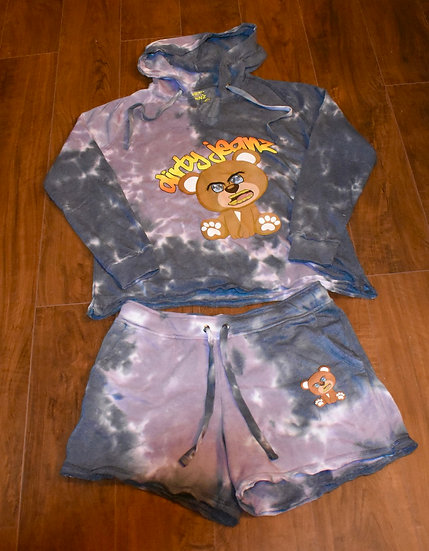 Dirty Jeanz Teddy Short Outfit