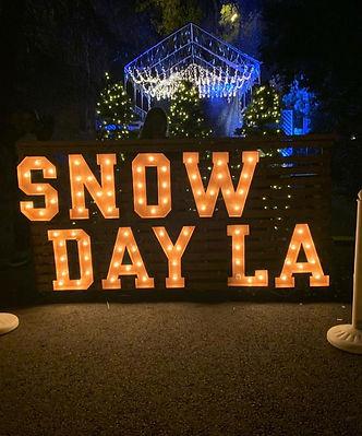 Snow Day LA | Tubing Park & Winter Fest