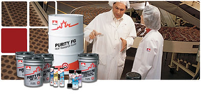 Petro-Canada Purity FG Food Grade Safe Lubricants & Greases