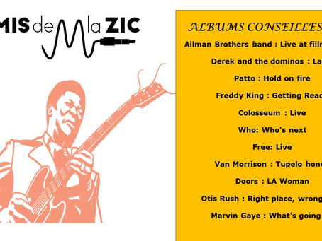 ALBUMS CONSEILLES : 1971