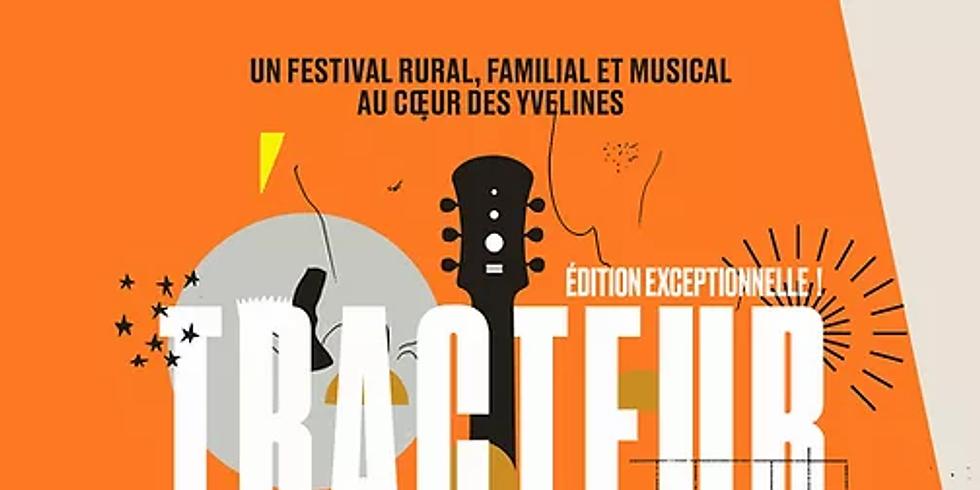 FESTIVAL TRACTEUR BLUES : à Saint Martin la Garenne dans les YVELINES. Ouverture des portes à 17h30
