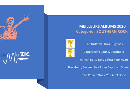 5 Meilleurs Albums SOUTHERN ROCK 2020