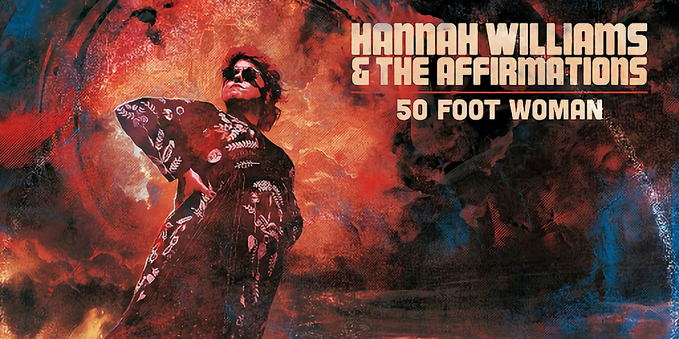 Hannah Williams & The Affirmations + Tanika Charles : concert + after au Pub THE BITTER END