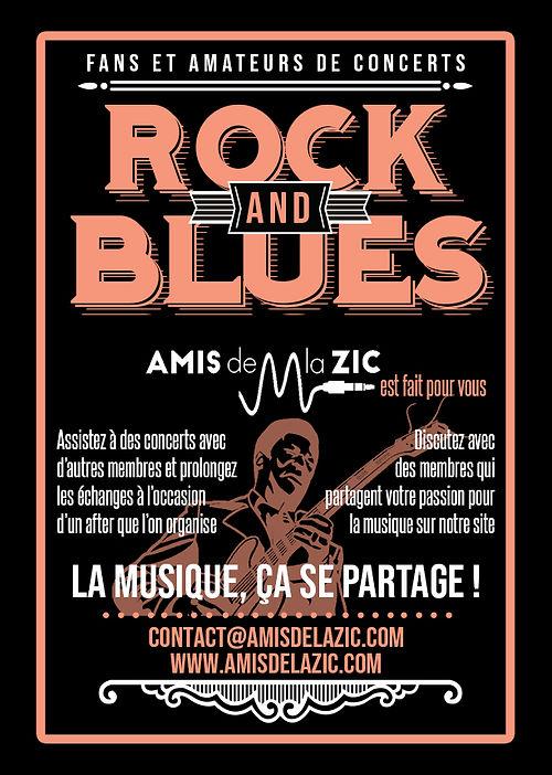 fans amateurs de concerts rock blues amis de la zic