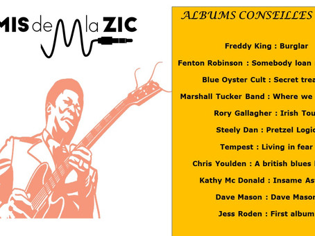 Albums conseillés : 1974