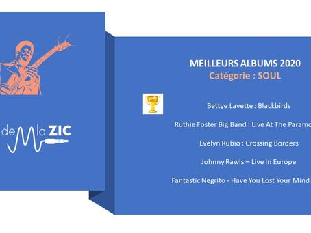5 Meilleurs Albums SOUL 2020