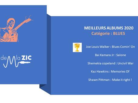 5 Meilleurs albums Blues 2020