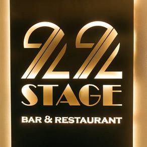 STAGE 22, GRAND HOTEL KEMPINSKI RIGA // ASPAZIJAS BULVĀRIS 22