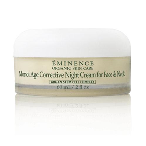 EMINENCE ORGANIC SKIN CARE      Monoi Age Corrective Night Cream for Face & Neck
