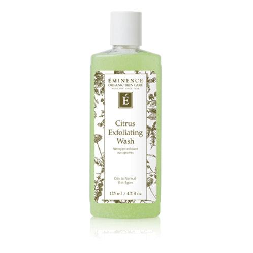 EMINENCE ORGANIC SKIN CARE                  Citrus Exfoliating Wash