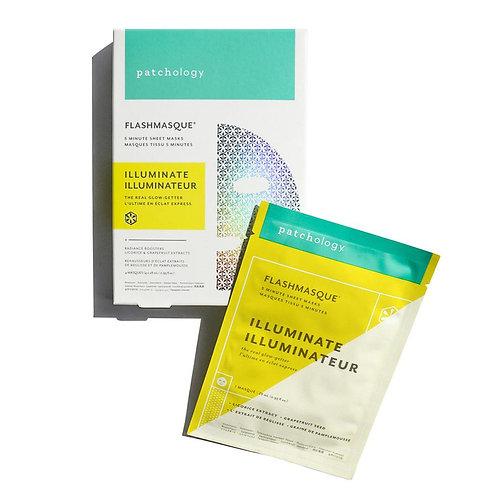 FlashMasque® Illuminate 5 Minute Sheet Mask