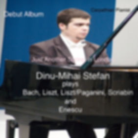 Just Another Spring in London by Dinu-Mihai Stefan, Romanian Concert Pianist - his debut album - released in April 2014