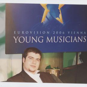 În timpul selecției Eurovision Young Musicians 2006