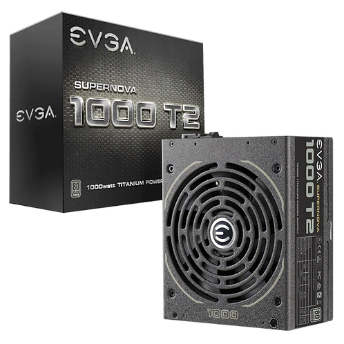 EVGA Supernova 1000 T2, 80+ Titanium 1000W, Fully Modular, ECO Mode