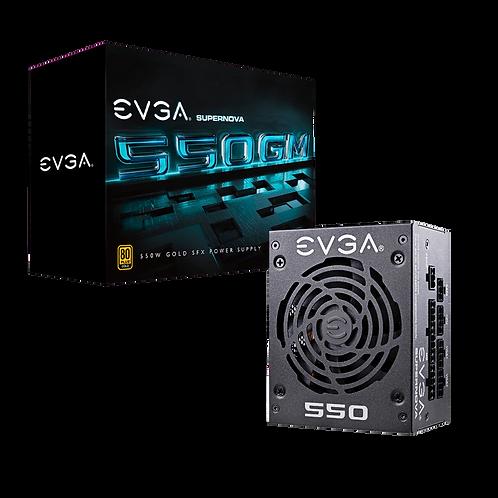 EVGA SuperNOVA 550 GM, 80 Plus Gold 550W, Fully Modular, ECO Mode with DBB Fan