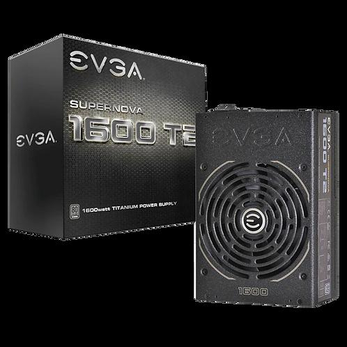 EVGA SuperNOVA 1600 T2, 80+ TITANIUM 1600W, Fully Modular, EVGA ECO Mode