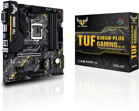Asus TUF B365M-PLUS Gaming (Wi-Fi) LGA1151 (300 Series) DDR4 HDMI WiFi M.2 mATX