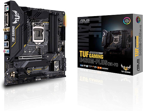 ASUS TUF Gaming B460M-Plus WiFi 6 LGA1200 (Intel 10th Gen) Micro ATX Gaming