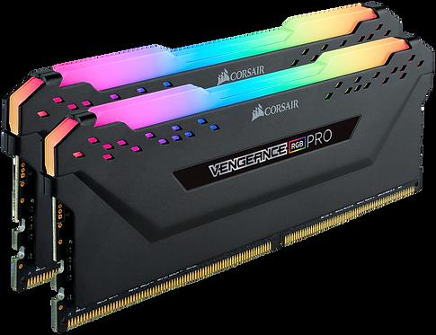 CORSAIR VENGEANCE® RGB PRO DDR4 DRAM Memory - Black