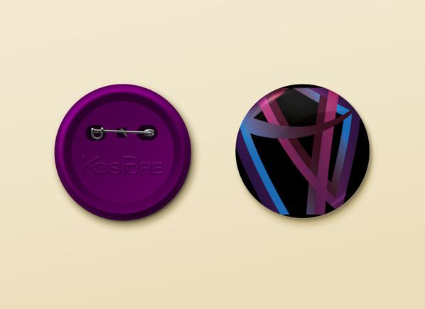 Kospure button