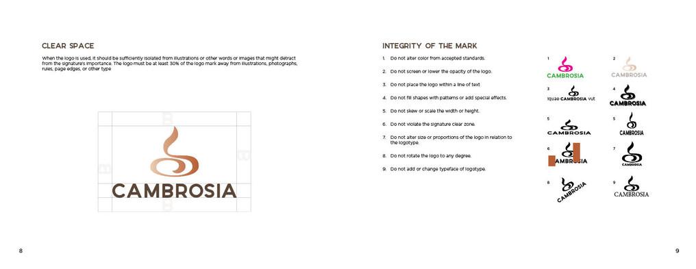 Cambrosia Brandbook