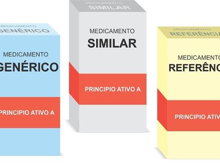 Qual a diferença entre medicamento de referência, genérico e similar?