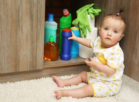 Intoxicação por produtos de limpeza: saiba os cuidados necessários para evitá-la