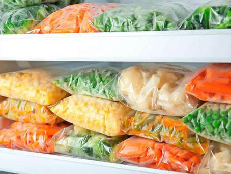 Comida congelada é uma das saídas em tempos de crise