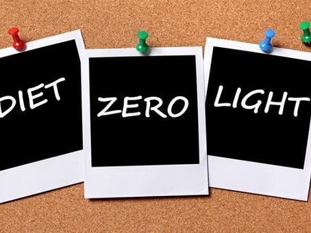 A relevância de identificar os alimentos em light, diet e zero