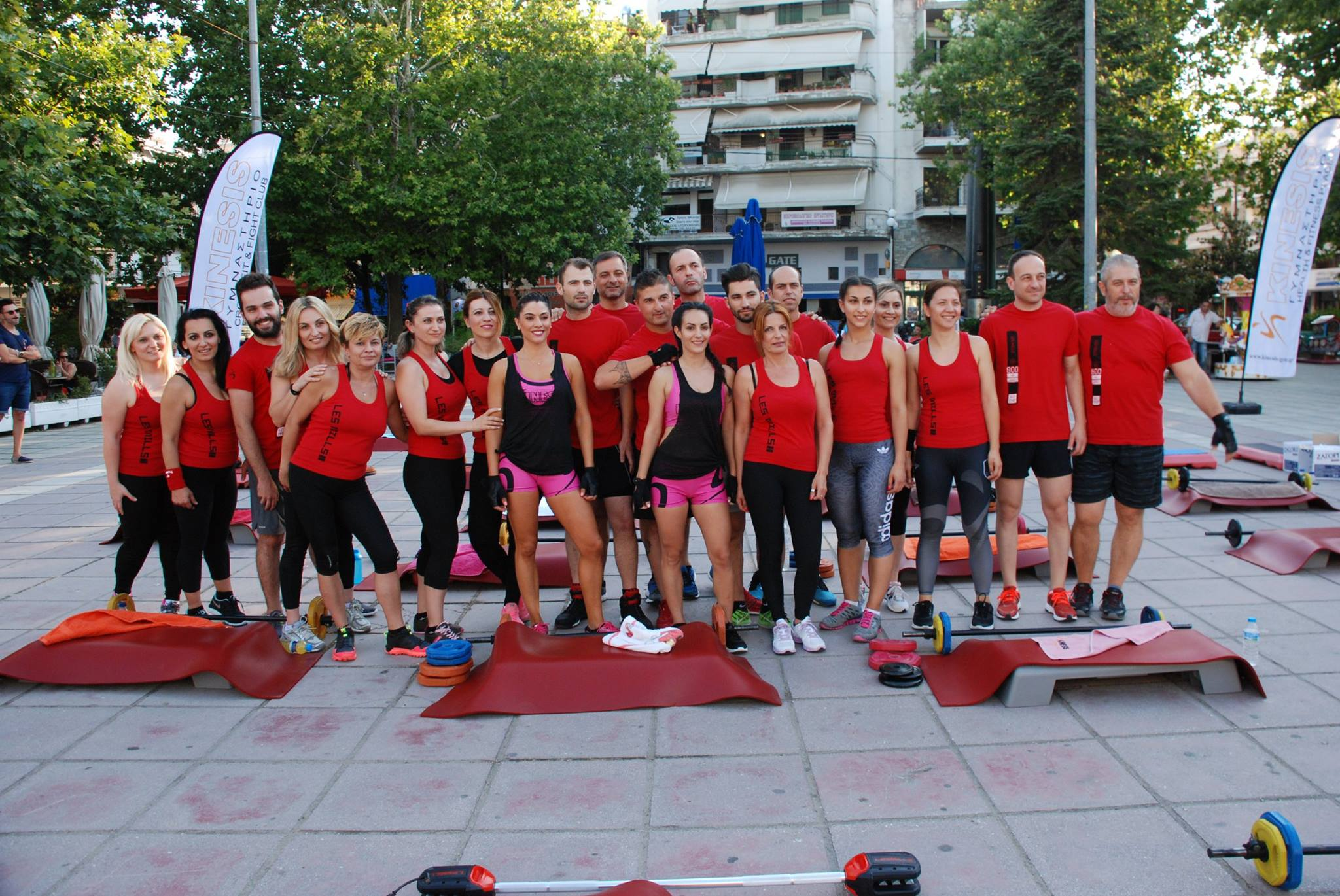 Kinesis Gym members, Greece